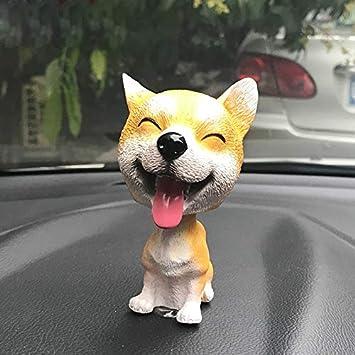 kgftdk - Dashboard Decorativo para Coche, diseño de Perro con ...