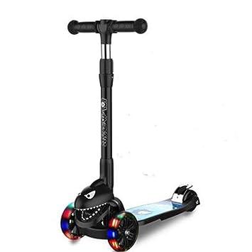Amazon.com: FF - Patinete infantil plegable con tres ruedas ...