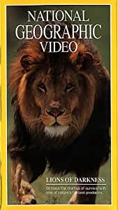 National Geographic's Lions of Darkness [VHS]