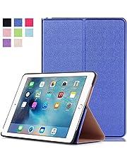 Lobwerk hoes voor Apple iPad Pro 2016 9,7 inch beschermhoes flip tablet cover case in blauw