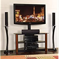 Bello TPC2127 Triple Play Fits Upto 55-Inch TV (Black) (Discontinued by Manufacturer)