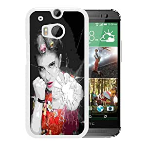 hayley williams 0.4 White Hard Plastic HTC ONE M8 Phone Cover Case