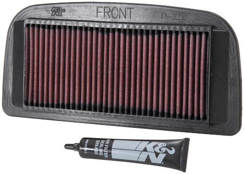 K&N YA-1002 Yamaha High Performance Replacement Air Filter