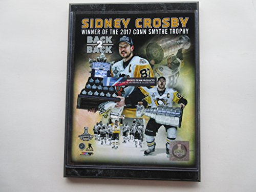 Sidney Crosby Pittsburgh Penguins 2017 Back 2 Back Mvp Photo Mounted On A  9 X 12  Black Marble Plaque