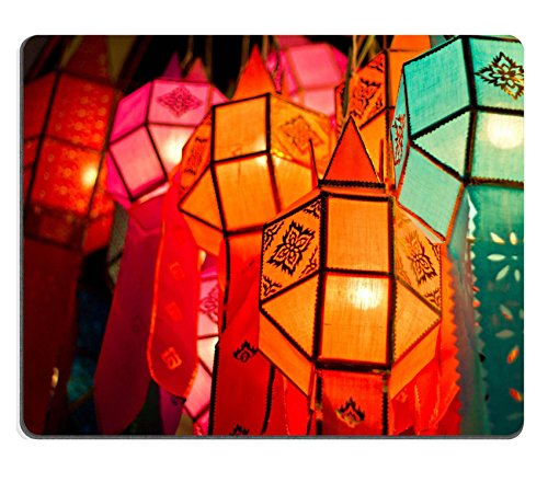 - Liili Mouse Pad Natural Rubber Mousepad Asian paper lanterns in thailand Photo 24756858