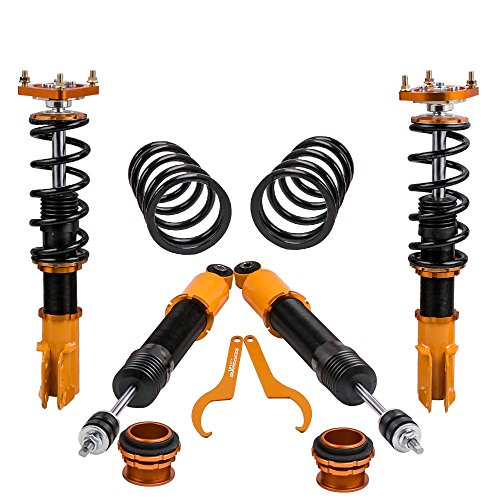 Damper Kit Ford Mustang - maXpeedingrods Coilovers Suspension Kit for 94-04 for Ford Mustang 4th 20 Ways Non-Adjustable Damper