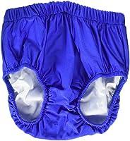 "My Pool Pal 3UP02M Swim-Sters Reusable Youth Swim Diaper, Medium, 10/12"" Size, Royal"