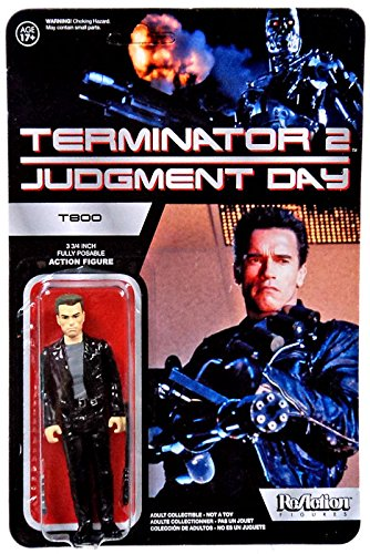 "Funko The Terminator Terminator 2 Judgment Day ReAction T-800 3 3/4"" Action Figure"