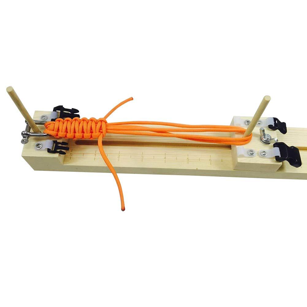 Classicoco DIY Wood Jig,DIY,Bracelet,Wristband,Tools,Knitting,Braiding,DIY Wood Jig Bracelet Maker Wristband Knitting Tool Paracord Braiding Weaving Craft Tool Kit
