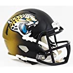 Jacksonville Jaguars 2013-2017 Black and Gold Shell Riddell Speed Mini Football.