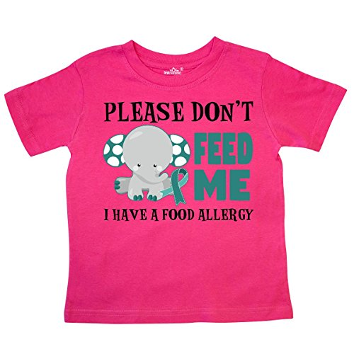 inktastic - Please Dont Feed Me I Have a Food Toddler T-Shirt 2T Hot Pink 29dc0