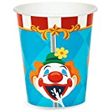 BirthdayExpress Carnival Games Circus Childrens Party Supplies Paper Cups - 48 Pack