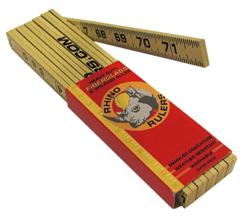 Rhino Rulers 55120 Masons Modular Spacing Ruler