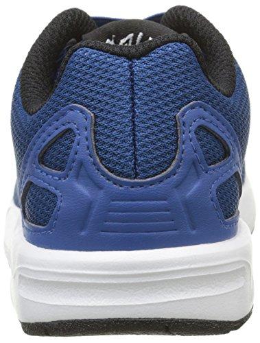 adidas Unisex Baby Zx Flux Lauflernschuhe, Rose Blau - Bleu (Eqt Blue S16/Ftwr White/Core Black)