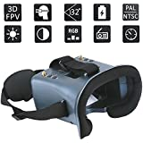 DLFPV 5.8G FPV Goggles with DVR 4.3inch Screen Built in 3.7V 2000mAh Battery for RC Drone Quadcopter RC Cars