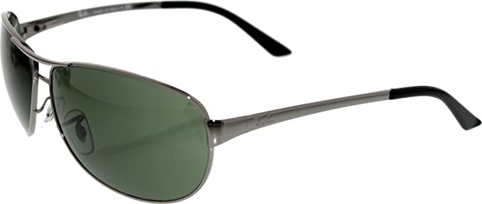 9bf135375a ... get ray ban uv protected rectangular mens sunglasses  0rb33420046363green bf7ac 8264e