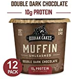 Kodiak Cakes Minute Muffins, Double Dark Chocolate, 2.36 Ounce (Pack of 12)