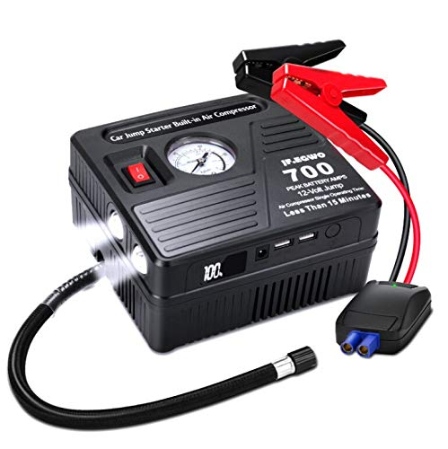 Portable Car Jump Starter with A...
