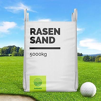 Rasensand f/ür Bodenverbesserung im praktischen Bigbag 1000-5000kg inkl 5000 Versand Quarzsand