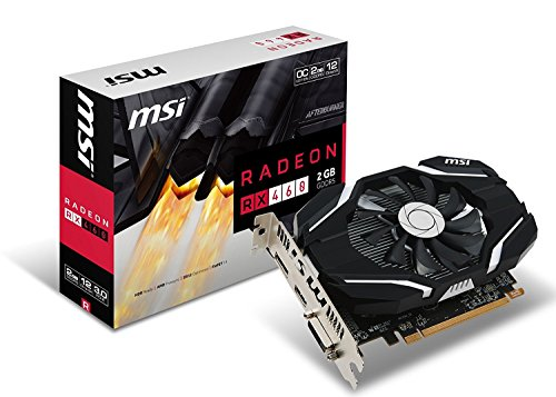 Msi Amd Laptops (MSI GAMING Radeon RX 460 GDDR5 2GB CrossFire DirectX 12 Graphics Card RX 460 2G OC edition)