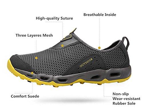 En Homme Plage Ultra Piscine Sport Running Chaussure Respirant Chaussures D'eau Pieds Sneakers De léger Femme Confortable Yooeen Séchage Nus Violet Et Rapide Mesh aPwtYUnq