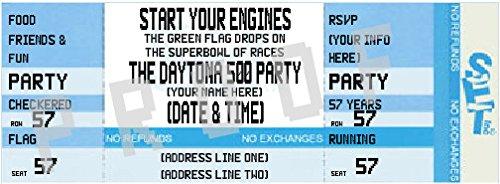 Daytona 500 Ticket Invitation #2 (Blue)