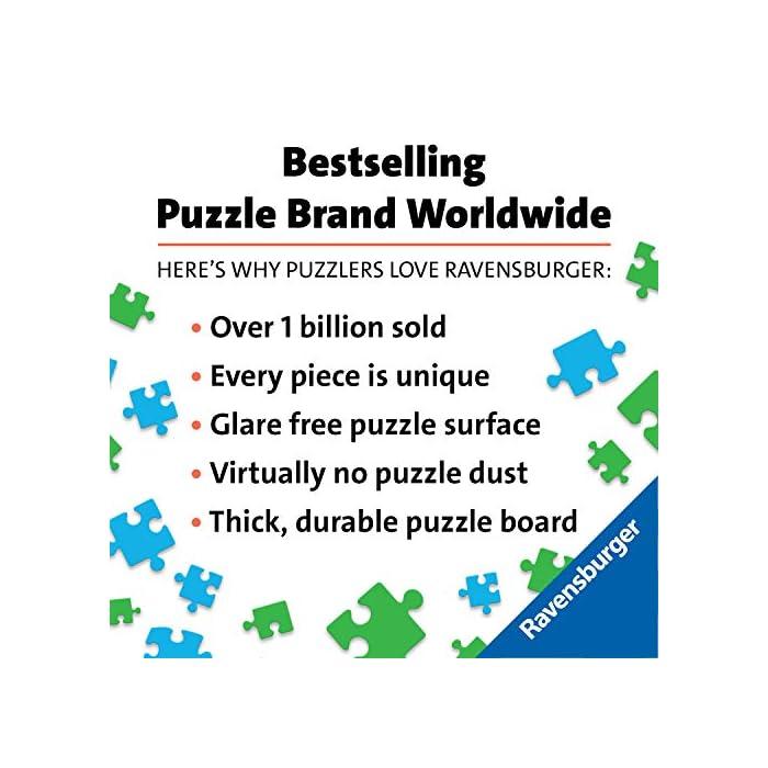 Ravensburger puzzle para adultos de la linea krypt Puzzle monocromáticos para todos los fanáticos de los puzzles El desafio no radica en el motivo impreso, sino observar la forma muy particular de las diversas piezas y buscar su ajuste