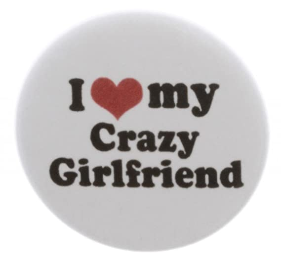Amazoncom At Designs Unisex I Love My Crazy Girlfriend 225