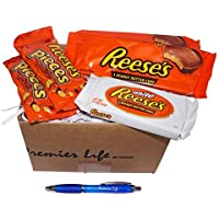 Reese's Chocolates Treat Box - Pieces, Milk and White Chocolate Butter Cups