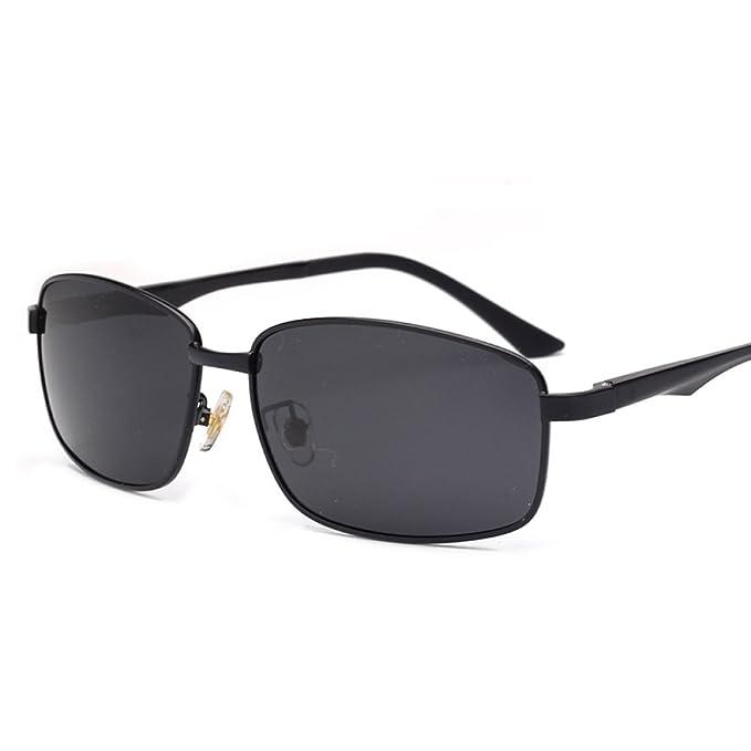 Gafas De Sol Con Gafas De Sol Polarizadas Polarizadas UV400 Unisex UV400 ,BlackGray-S