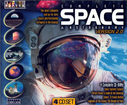 Complete Space and Astronomy 2.0 (4 CD-ROM) by Topics Entertainment
