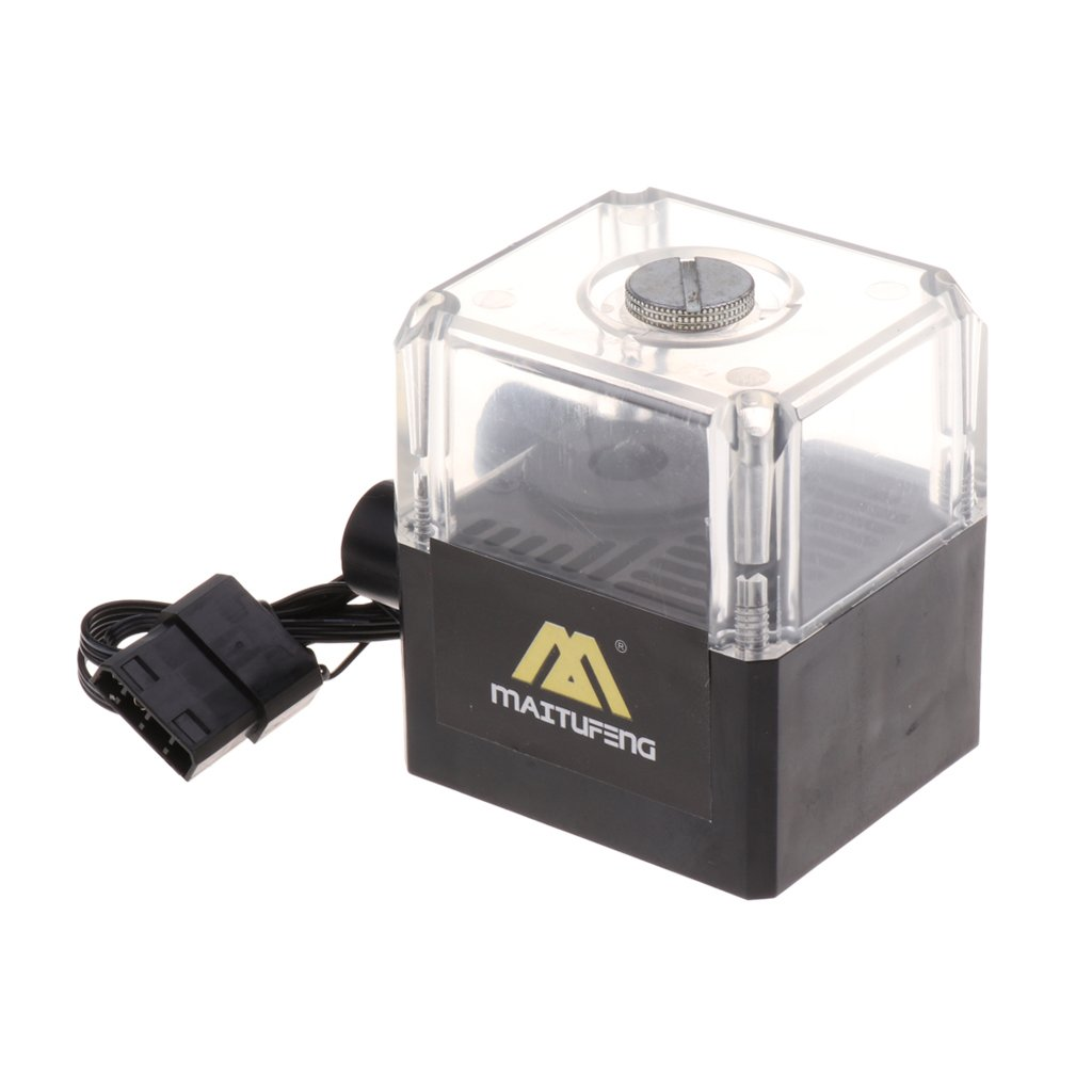 MagiDeal Tanque de Bomba de Enfriamiento de Agua L/íquida M300t de Bajo Ruido para Sistema de Refrigeraci/ón de CPU de PC