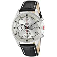 Seiko\x20Men\x26\x23039\x3Bs\x20SNDC87P2\x20Leather\x20Synthetic\x20Analog\x20with\x20White\x20Dial\x20Watch