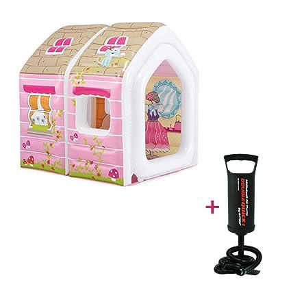 GFEI Tienda de la casa de Juegos Grande Carpa Inflable de la Princesa - Casa de