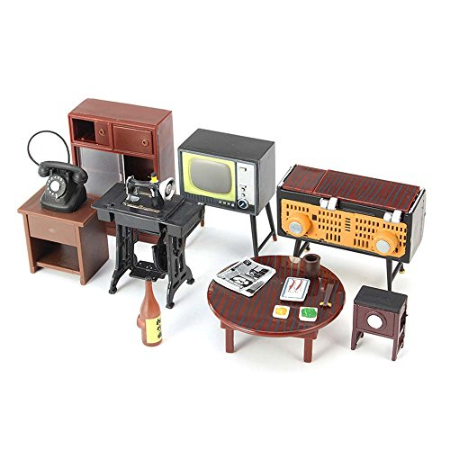 miniature-furniture-set-sewing-machine-telephone-for-families-role-play-toy-kit-zevenmart-diy-dollho