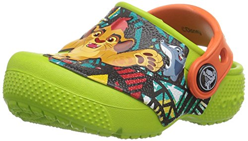Price comparison product image crocs Kids' Crocsfunlab Lion Guard Clog,  Volt Green,  9 M US Toddler