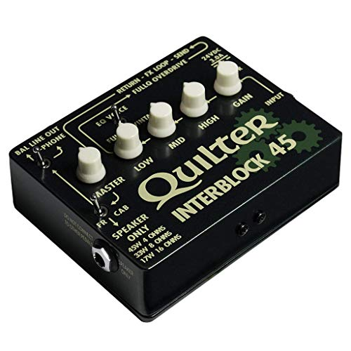 Quilter InterBlock 45 45-Watt Guitar Amplifier/Preamp Pedal by Quilter (Image #7)