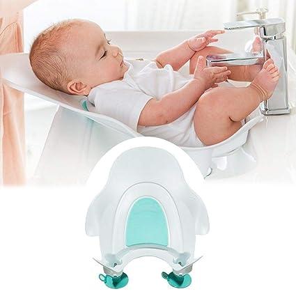 Bañera de bebé Lavabo de lavado de culo para bebé Bañera compacta de ...