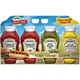 Heinz Ketchup, Mustard, and Sweet Relish Picnic Pack, 4 Pack