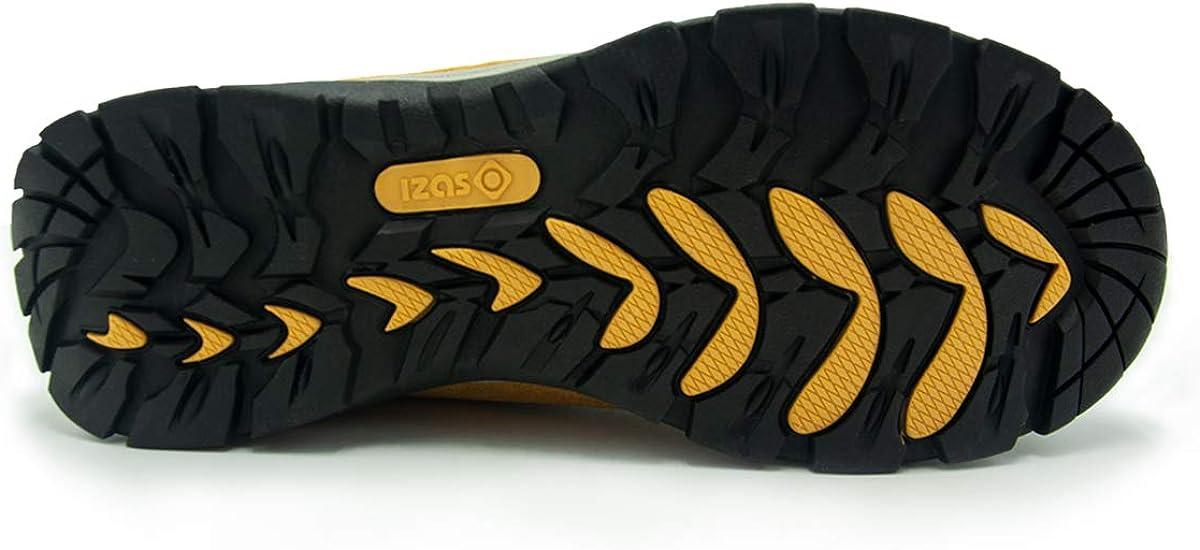 IZAS Verona, Chaussure de randonnée Mixte Adulte Noir Fuxia