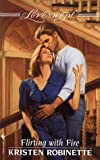 img - for Flirting with Fire (Loveswept) book / textbook / text book