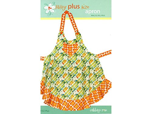 Cabbage Rose Ptrn Sassy Plus Size Apron Pattern for sale  Delivered anywhere in USA