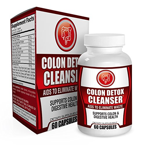 Colon Detox Health Cleanse Supplement Support