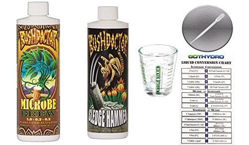 Hammer Nutrition Complex - FoxFarm Microbe Brew & Sledge Hammer Pints Shot Glass GotHydro Card Pipette