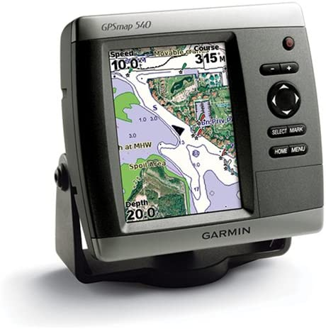 GARMIN 010-00614-00 GPSmap 540 Marine GPS Receiver with Chart Plotter Only