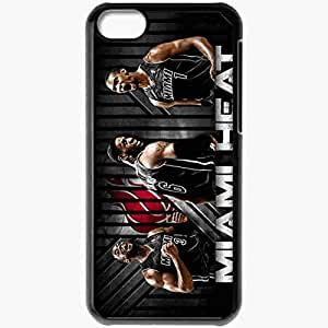 Personalized iPhone 5C Cell phone Case/Cover Skin 14904 miami heat by rhurst d4qnpdb Black by mcsharks