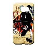 Shockproof Samurai Champloo Phone Carrying Shells Snap On Hard CasesCovers Shatterproof Samsung Galaxy Note 5