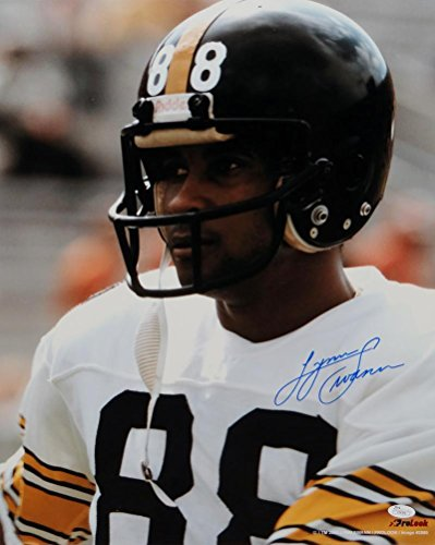 Lynn Swann Autographed Pittsburgh Steelers 16x20 Up Close Photo- JSA Authenticated (Lynn Swann Pittsburgh Steelers)