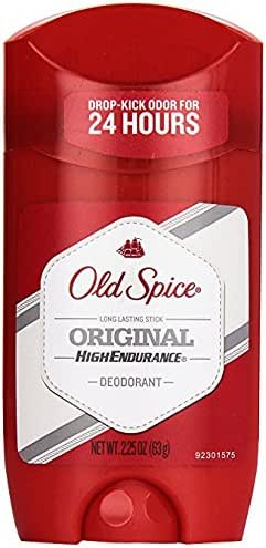 Old Spice High Endurance Original Scent Men's Deodorant, 2.25 Oz