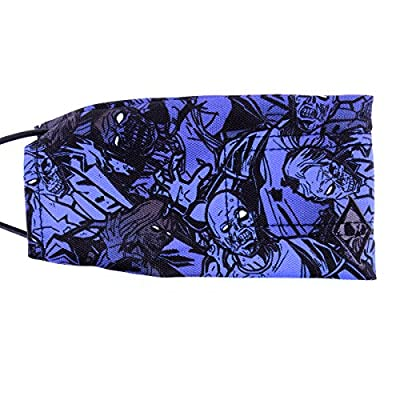 Wicked Sports Paintball Barrel Cover / Sock - Zombies - Blue